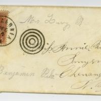 Envelopes addressed to Annie Wilcox.