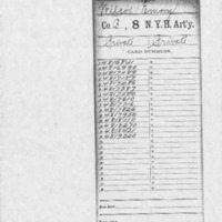 Emory Wilcox Military Service Record
