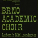 Brno Academic Choir Concert